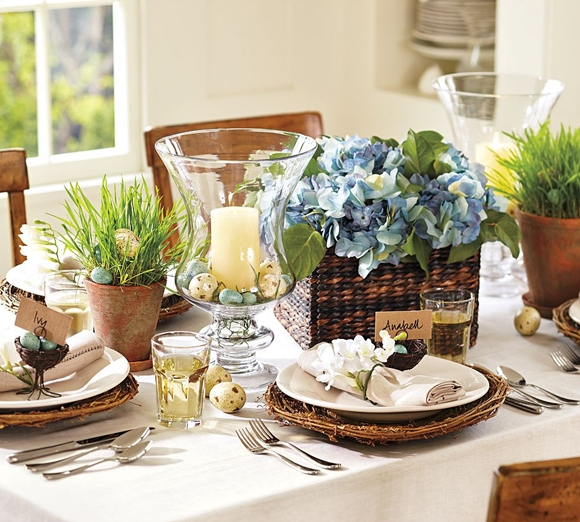 Easter Decorating Table Settings & Easter Decorating: Table Settings - Daily Dream Decor