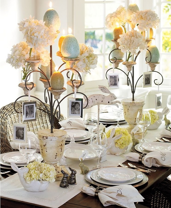 Easter Decorating: Table Settings - Daily Dream Decor