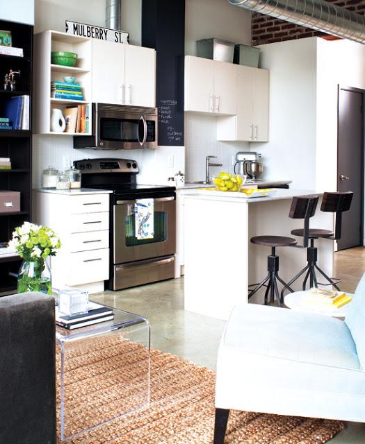 Small space loft daily dream decor for Arredare loft open space