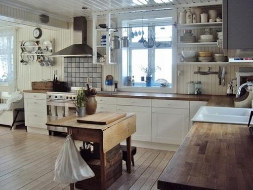 Elegant Vintage Kitchen