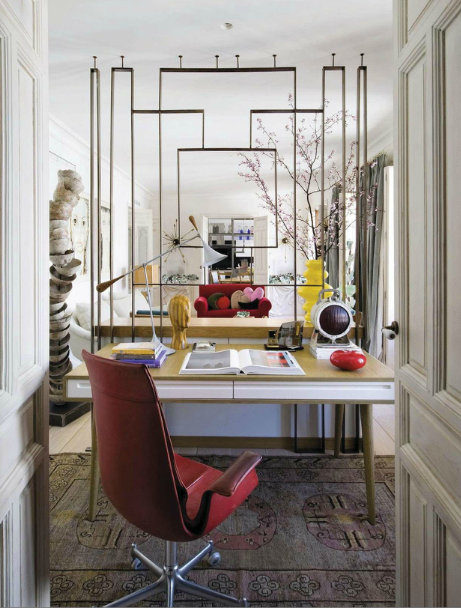 eclectic home office. I\u0027m Loving This Eclectic Home Office From AD Spain. F