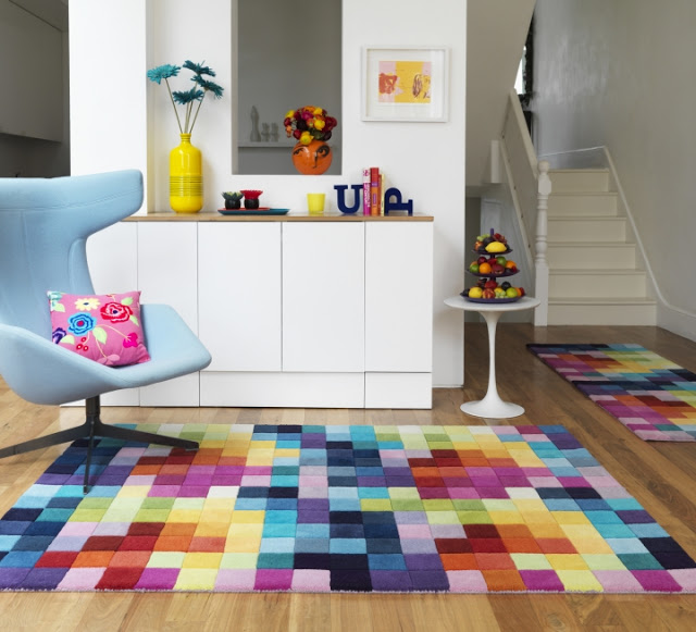 Three Funky Modern Rugs