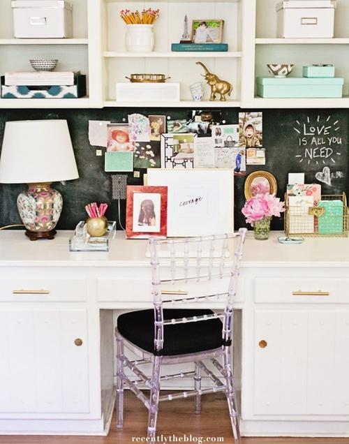 girly office decor. girly home office decor
