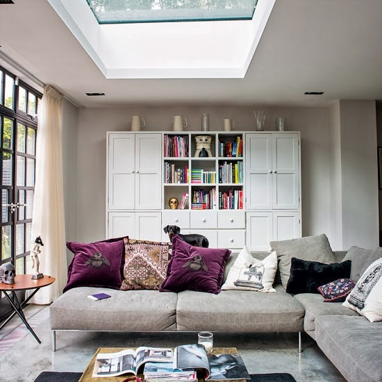 Quirky house in london daily dream decor for Quirky living room ideas