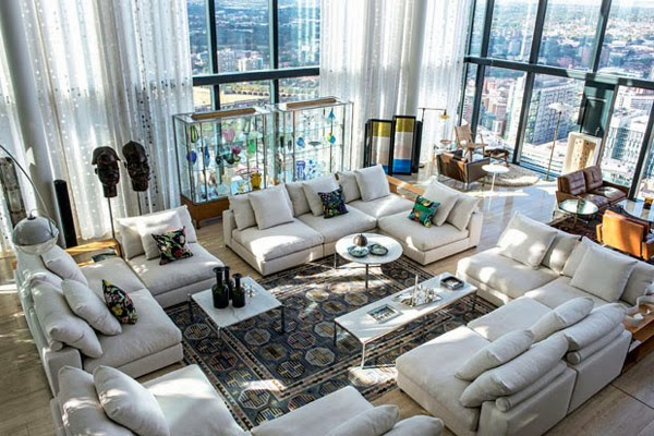 Open space modern penthouse Daily Dream Decor