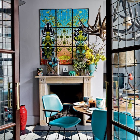 Quirky georgian house in london daily dream decor for Quirky house decor