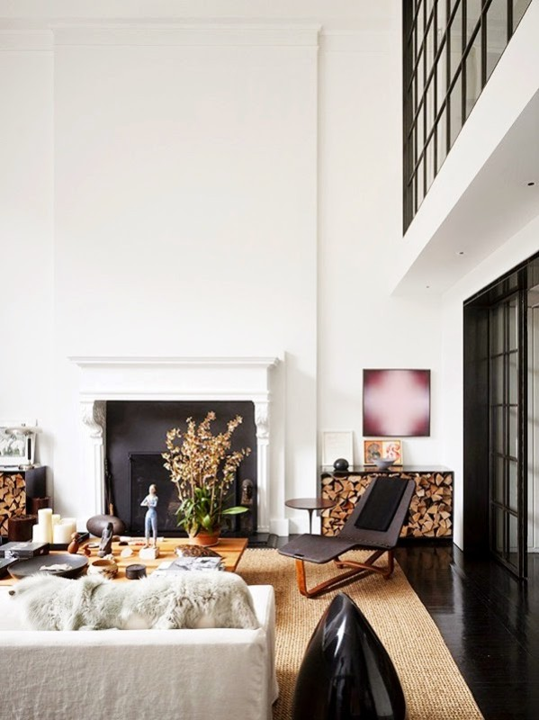 Sleek upper west side duplex daily dream decor for Upper west side apartment