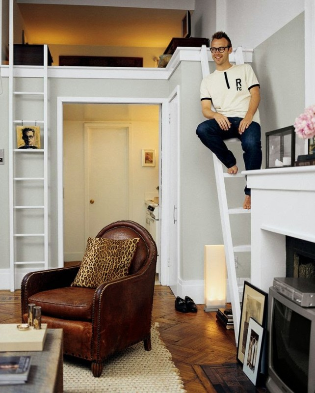 New York 3 Bedroom Apartments: Charming Tiny Apartment In New York