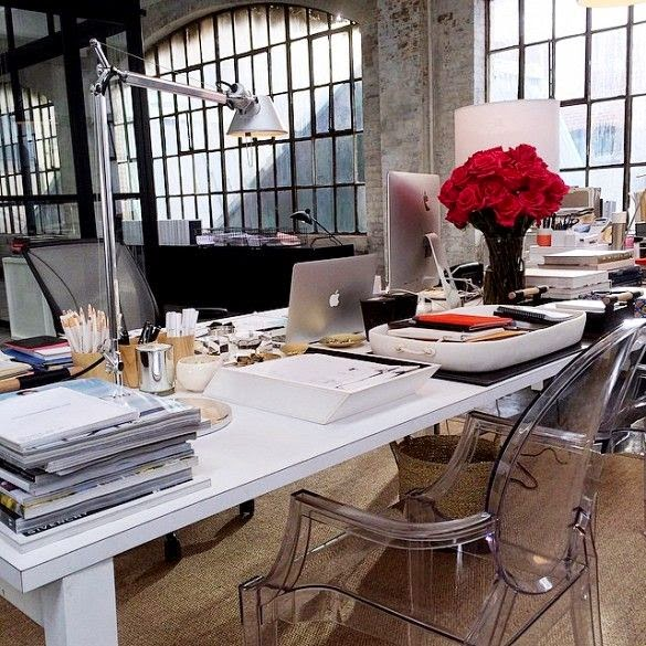 Chic Warehouse Office Design From The Intern Daily Dream
