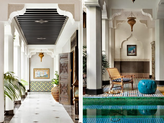Moroccan Style Home Entrancing Luxe Moroccan Style Home In California  Daily Dream Decor