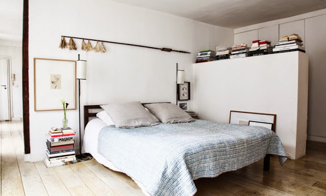 parisian bedroom. Chic modern Parisian bedroom  Daily Dream Decor