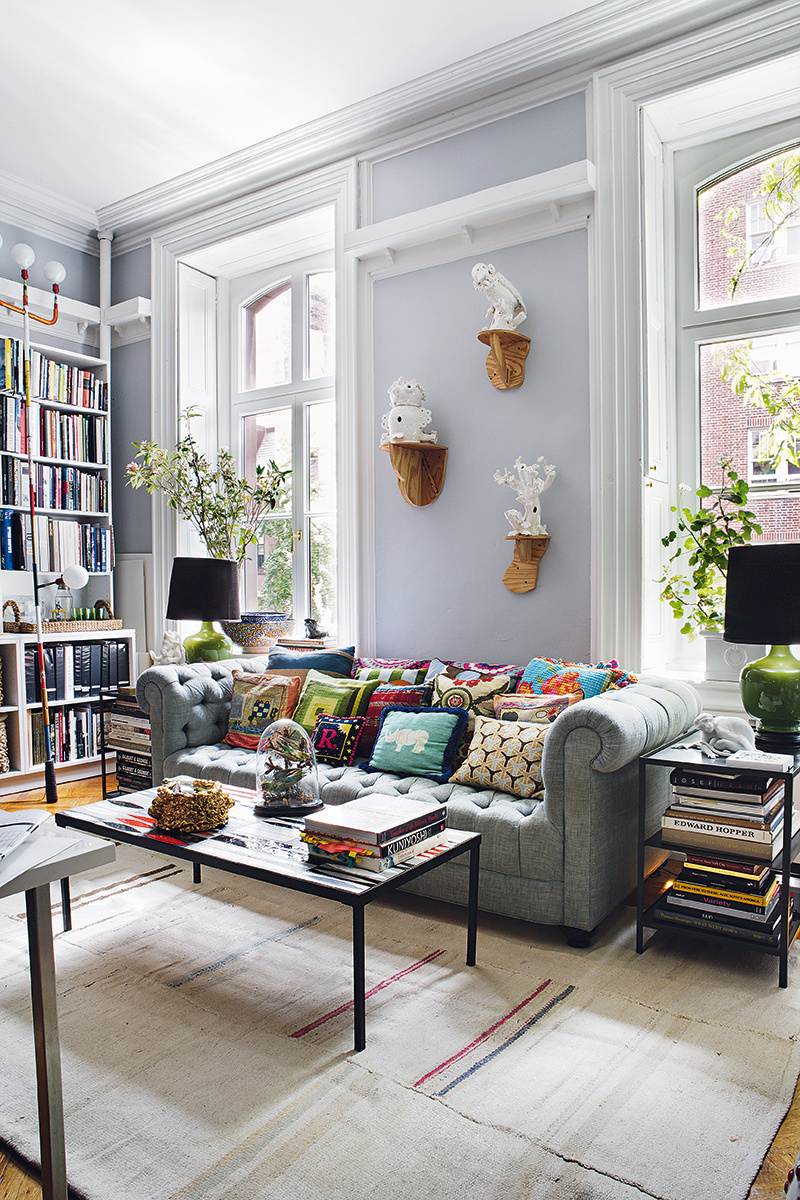 That bohemian new york apartment i promised you daily for New york city decor