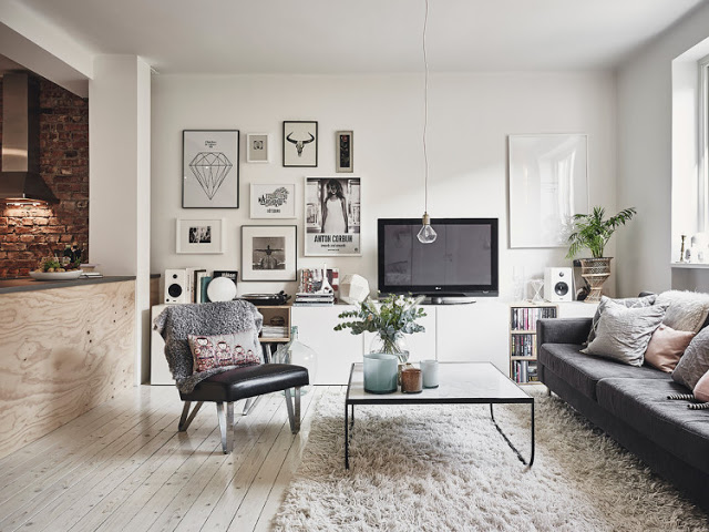 Feast Your Eyes On This Beautiful Apartment In Sweden   Daily Dream Decor Images