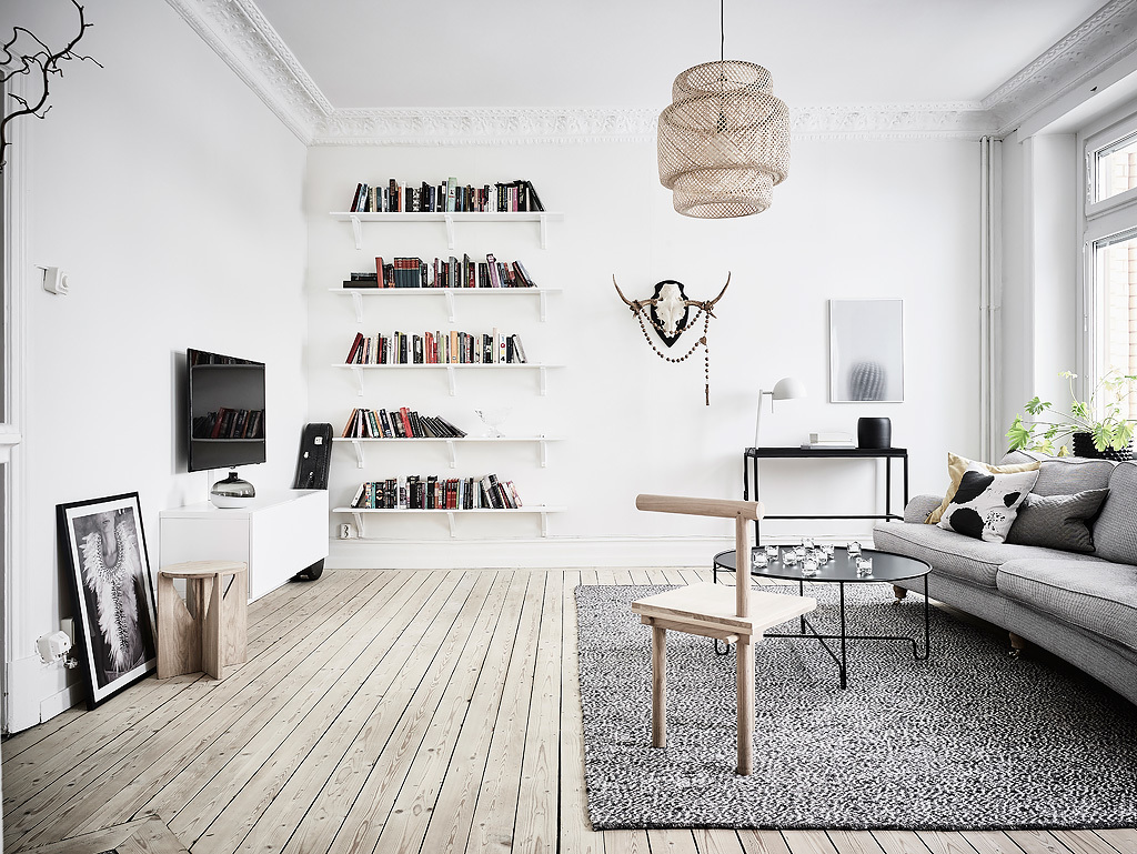 dreamy turn of the century apartment in gothenburg
