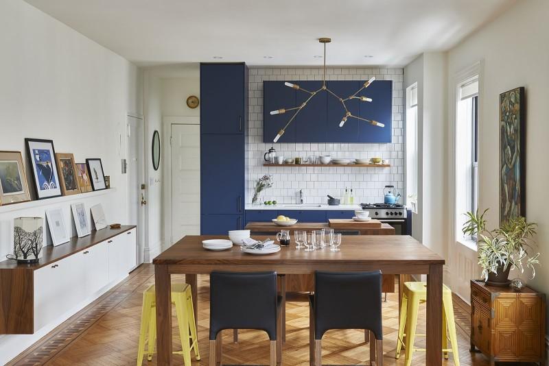 Light airy small brooklyn loft daily dream decor - Kitchen design brooklyn ...