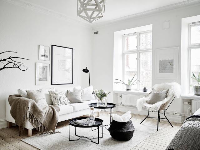 Fantastic one room scandinavian wonder daily dream decor for Interieur suedois