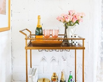 5 dreamy ideas for a home bar