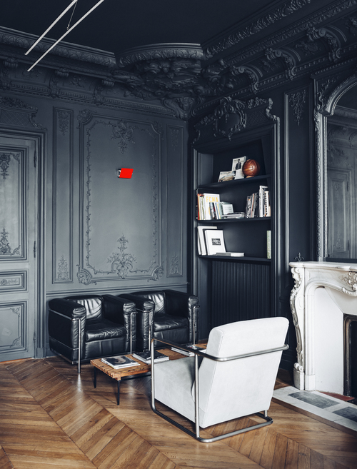 Black Walls dramatic black walls - daily dream decor