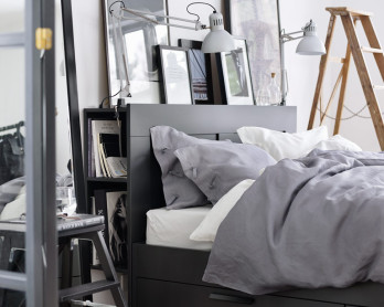 Cool modern Ikea bedroom