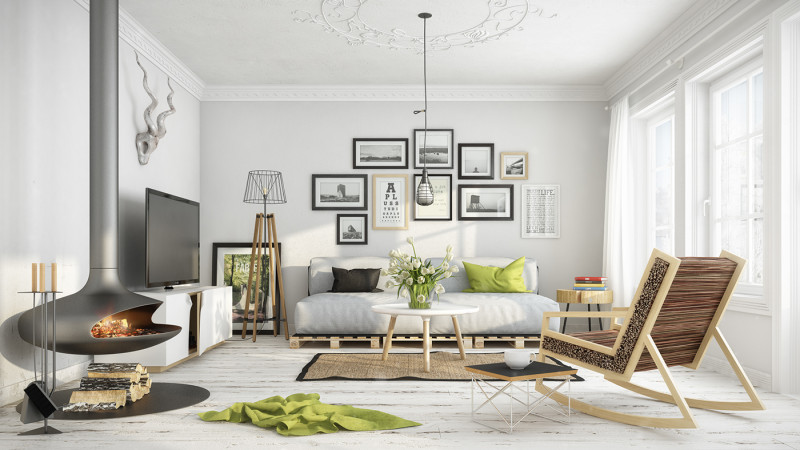 Spring Living Room Nakicphotography