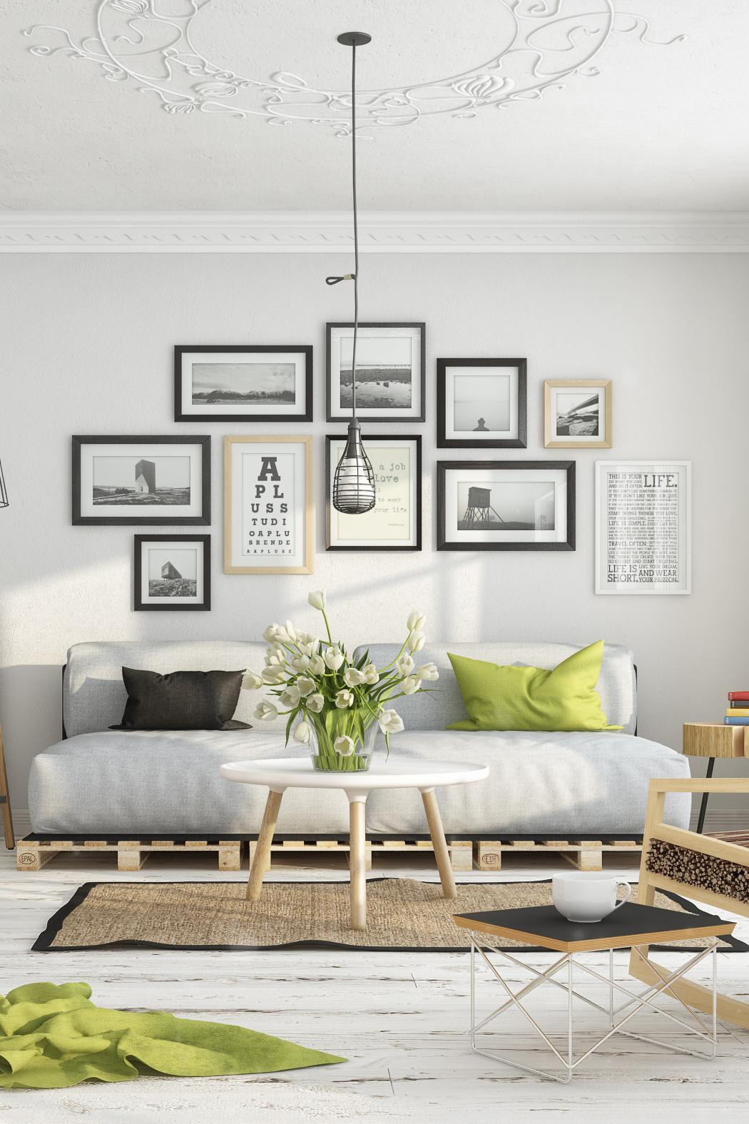 Scandinavian Shades Spring Living Room Daily Dream Decor