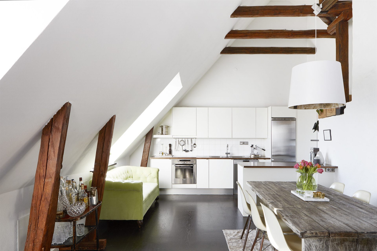 Smitten with this dreamy attic loft Apartments