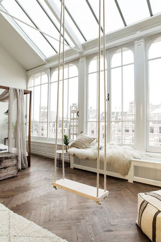Design You Room: 8 Swing Ideas For Your Dreamy Home