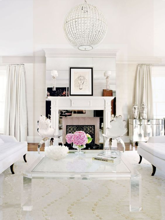 9 glam ideas for an elegant living room daily dream Glamorous living room furniture
