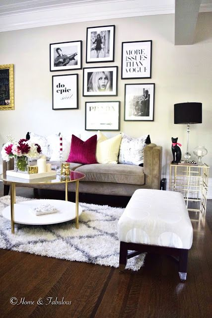 Glam ideas for an elegant living room daily dream decor