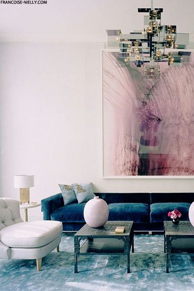 Blue Interior Design 8 pink and blue interiors that will make you swoon  daily dream decor