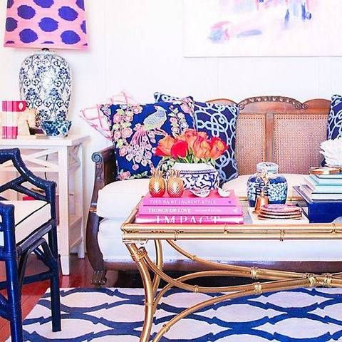 8 pink and blue interiors that will make you swoon - Daily Dream Decor