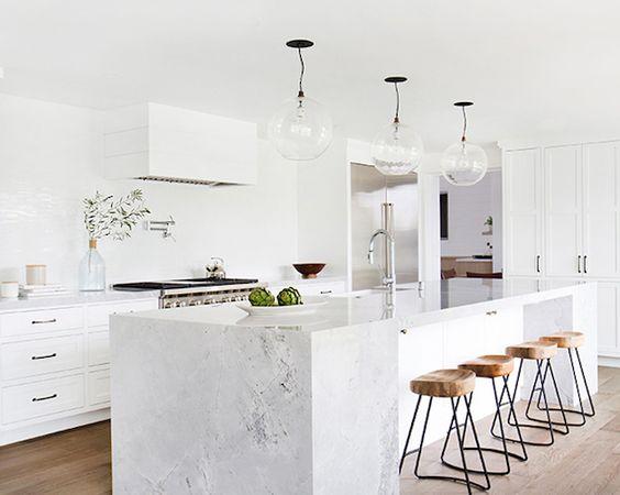 5 Beautiful Marble Kitchens Daily Dream Decor Bloglovin