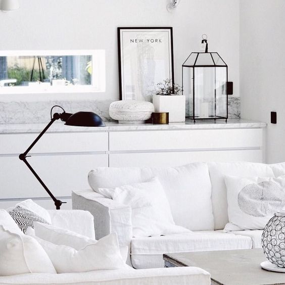 White Sofa Interior Details