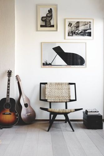 How to incorporate music instruments into your dreamy home design
