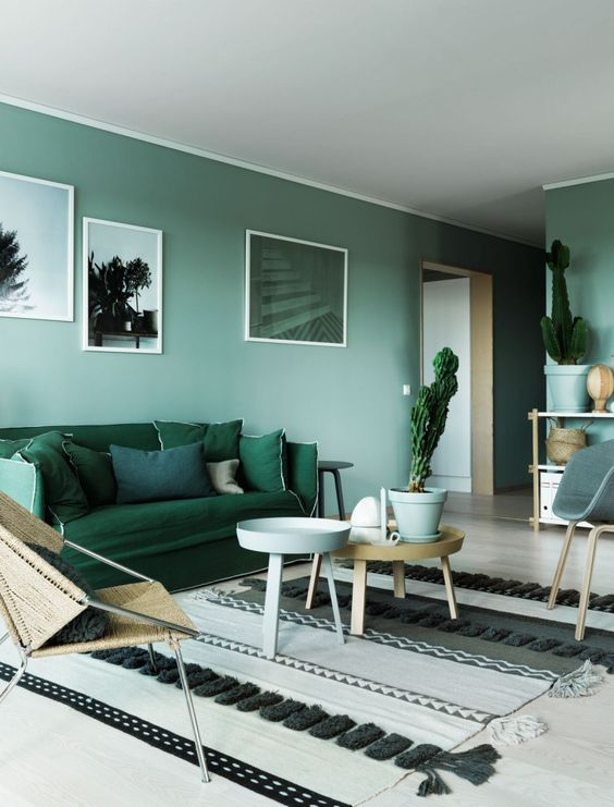 green livign room 9