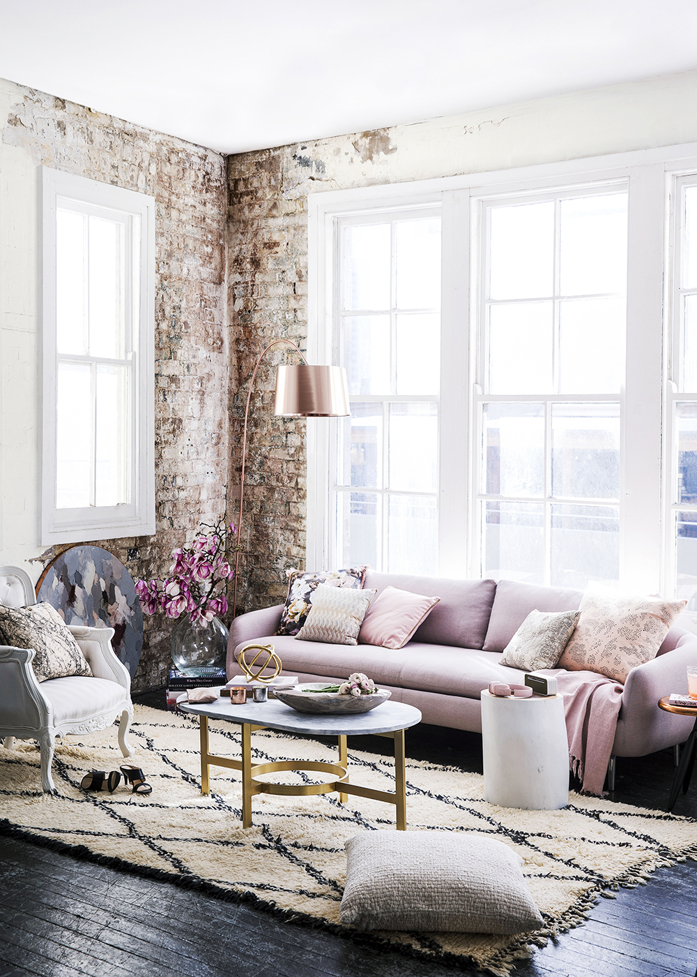 This living room is goals - Daily Dream Decor