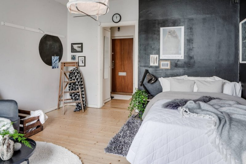 Small studio apartment with a cool vibe daily dream decor for Appartement 35m2 design