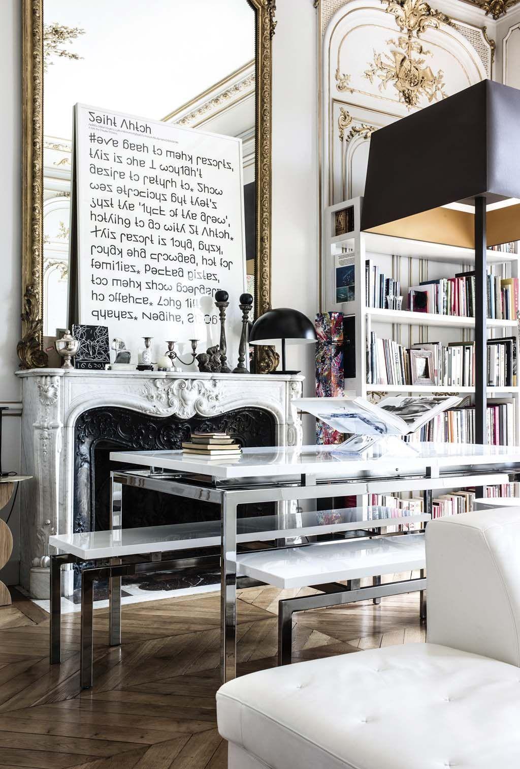 Dream Romantic Bedrooms: Chic & Romantic Paris Apartment