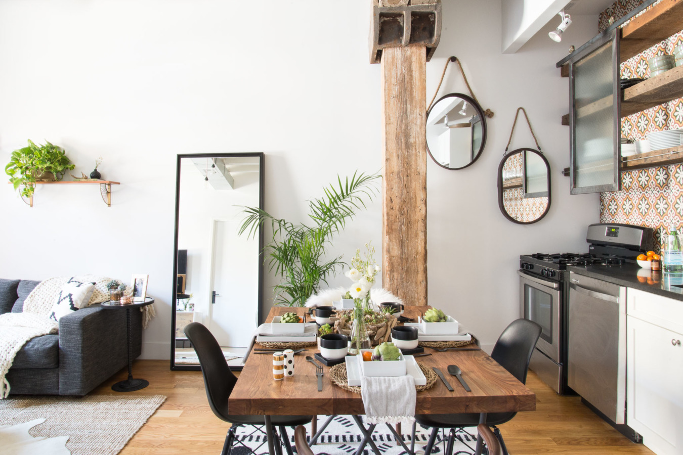 dreamy industrial brooklyn home daily dream decor