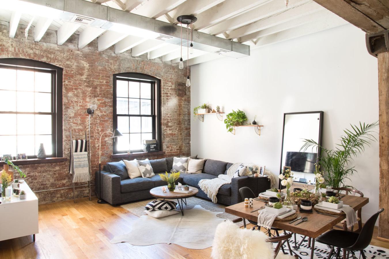 Dreamy industrial Brooklyn home