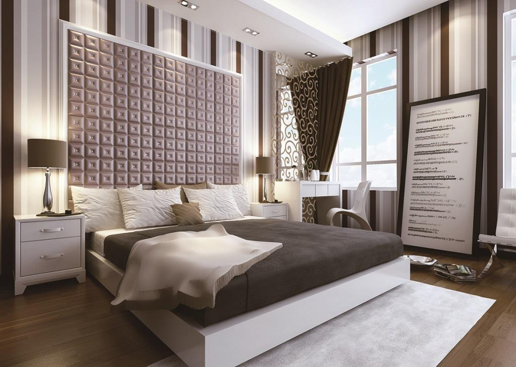 Add Style To Your Bedroom With 3d Leather Panels Daily