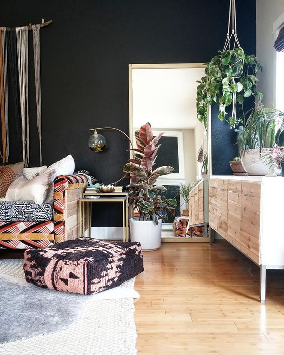 Home Design Ideas Instagram: 6 Bohemian Living Rooms That Will Make You Dream