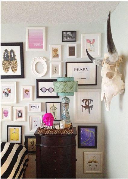 Fashion Gallery Wall 1