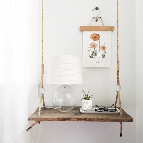 Hanging Side Table Night Stands