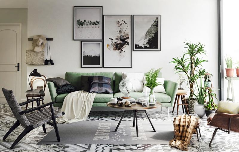 A Dreamy Lush Green Living Room Daily Dream Decor Bloglovin