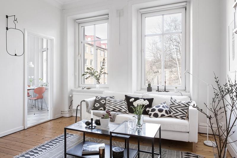 melancholic small apartment in gothenburg daily dream decor