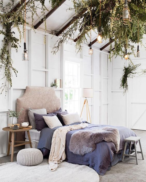 A gorgeous natural bedroom style daily dream decor for Bedroom decor styles