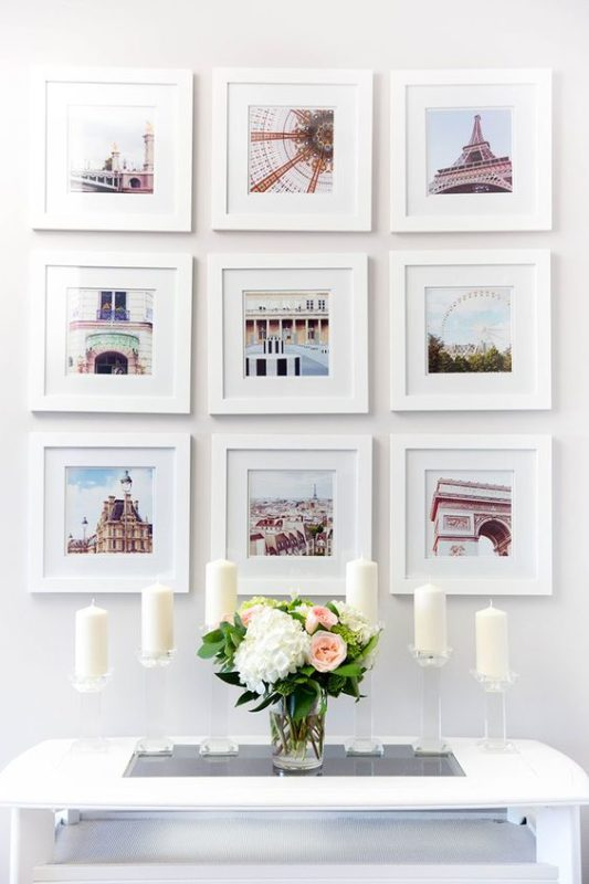 5 ideas for an outstanding gallery wall daily dream decor for Travel gallery wall ideas