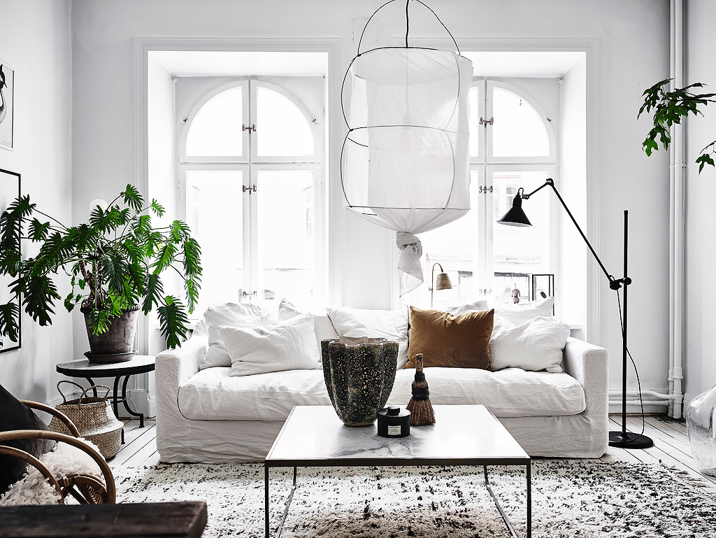 Scandinavian apartment with bohemian vibes daily dream decor - Deco vintage scandinave ...