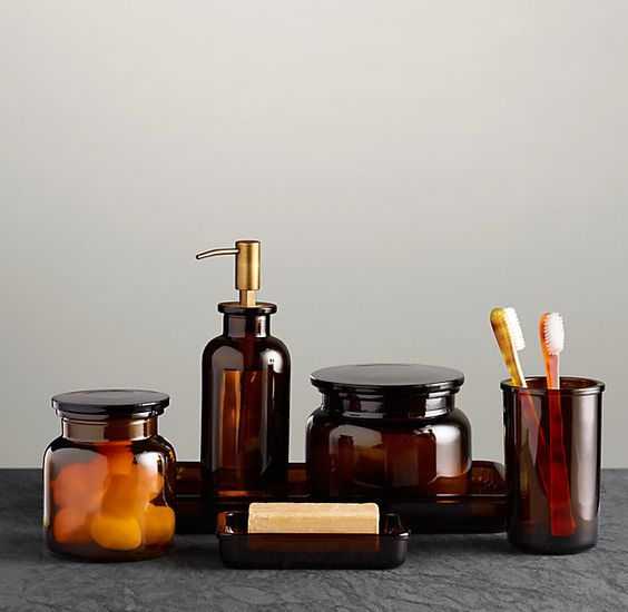7 ways to make your bathroom more luxurious daily dream for Bathroom containers